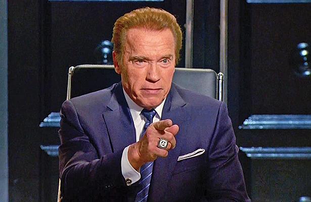 """Arnold  Schwarzenegger: """"Donald Trump está  enamorado  de mí"""""""
